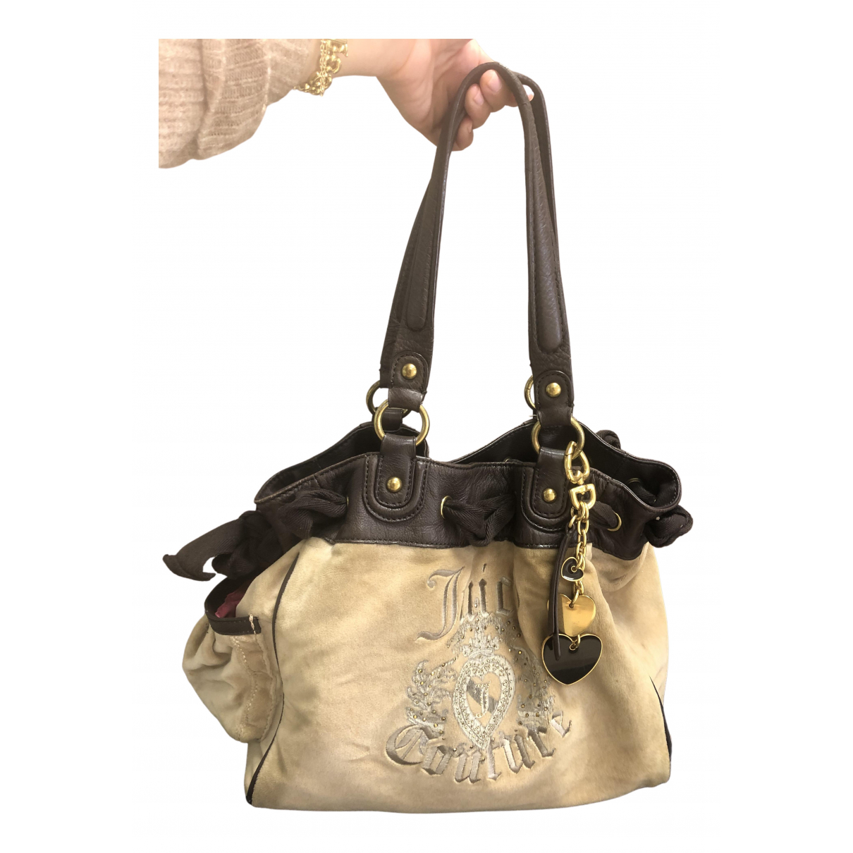 Juicy Couture N Brown Velvet handbag for Women N