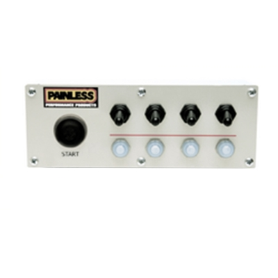 Painless Wiring Push Button Start Off Road Switch Panel - 50334