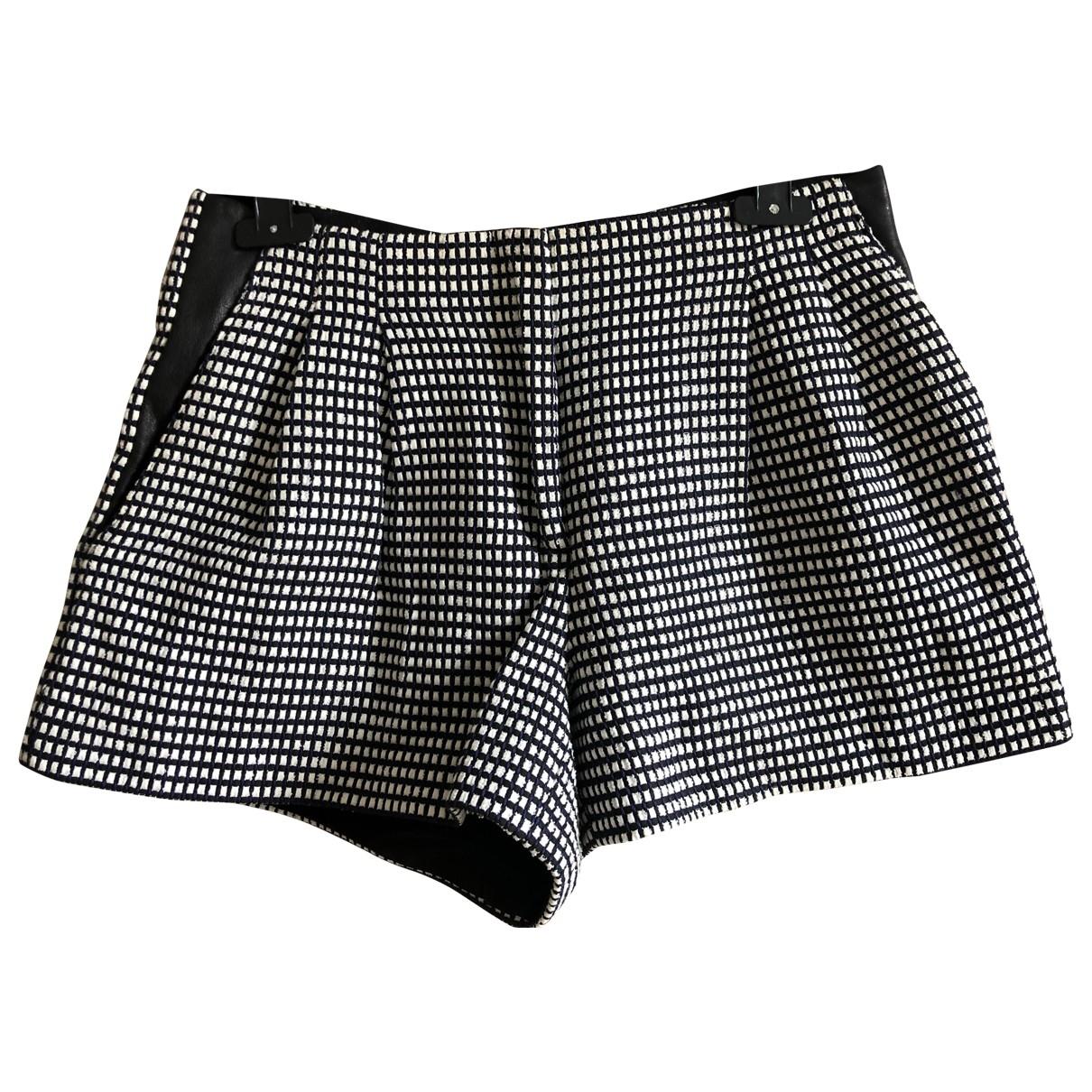 Proenza Schouler \N Shorts in  Anthrazit Baumwolle