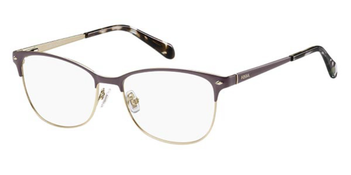Fossil FOS 7034 4IN Women's Glasses Violet Size 51 - Free Lenses - HSA/FSA Insurance - Blue Light Block Available