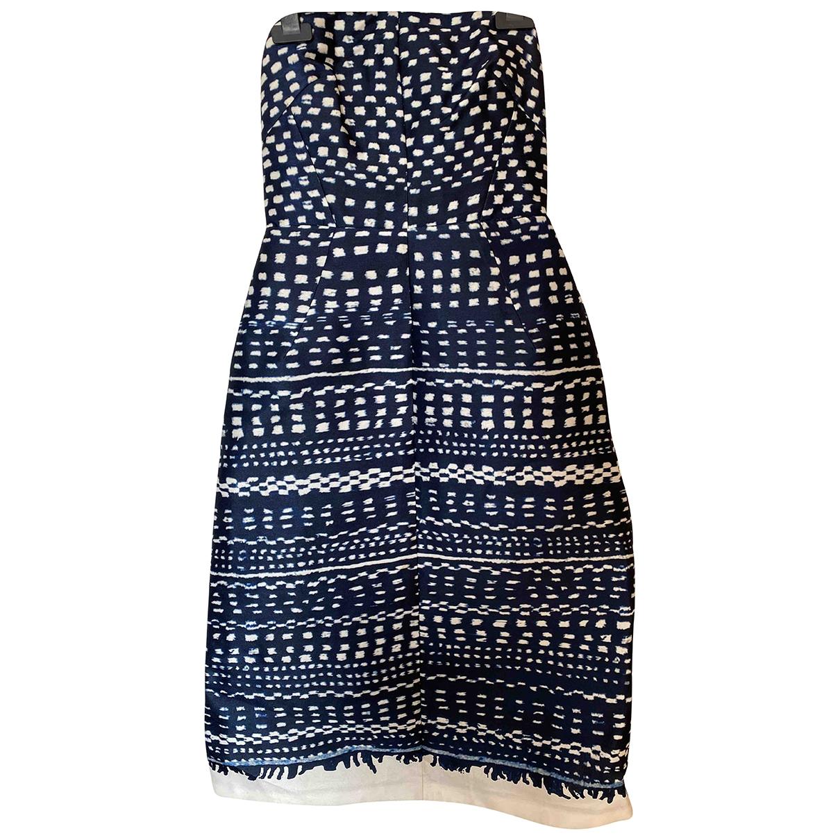 Whistles - Robe   pour femme - bleu