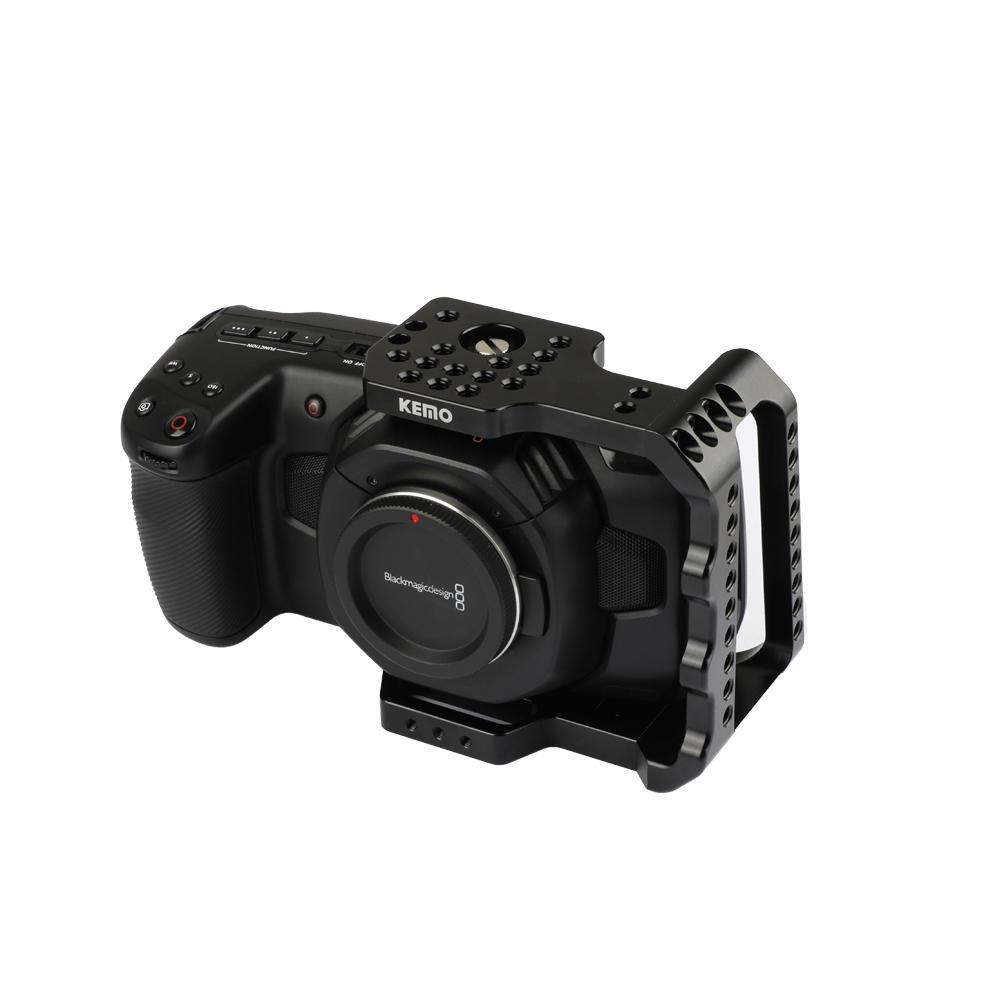 KEMO BMPCC Camera Cage Half Frame Stabilizer for Blackmagic Pocket Cinema Camera 4K