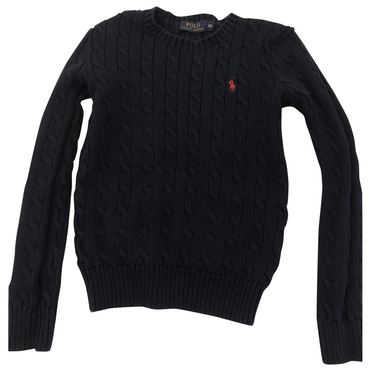 Polo Ralph Lauren \N Navy Cotton Knitwear for Women XS International