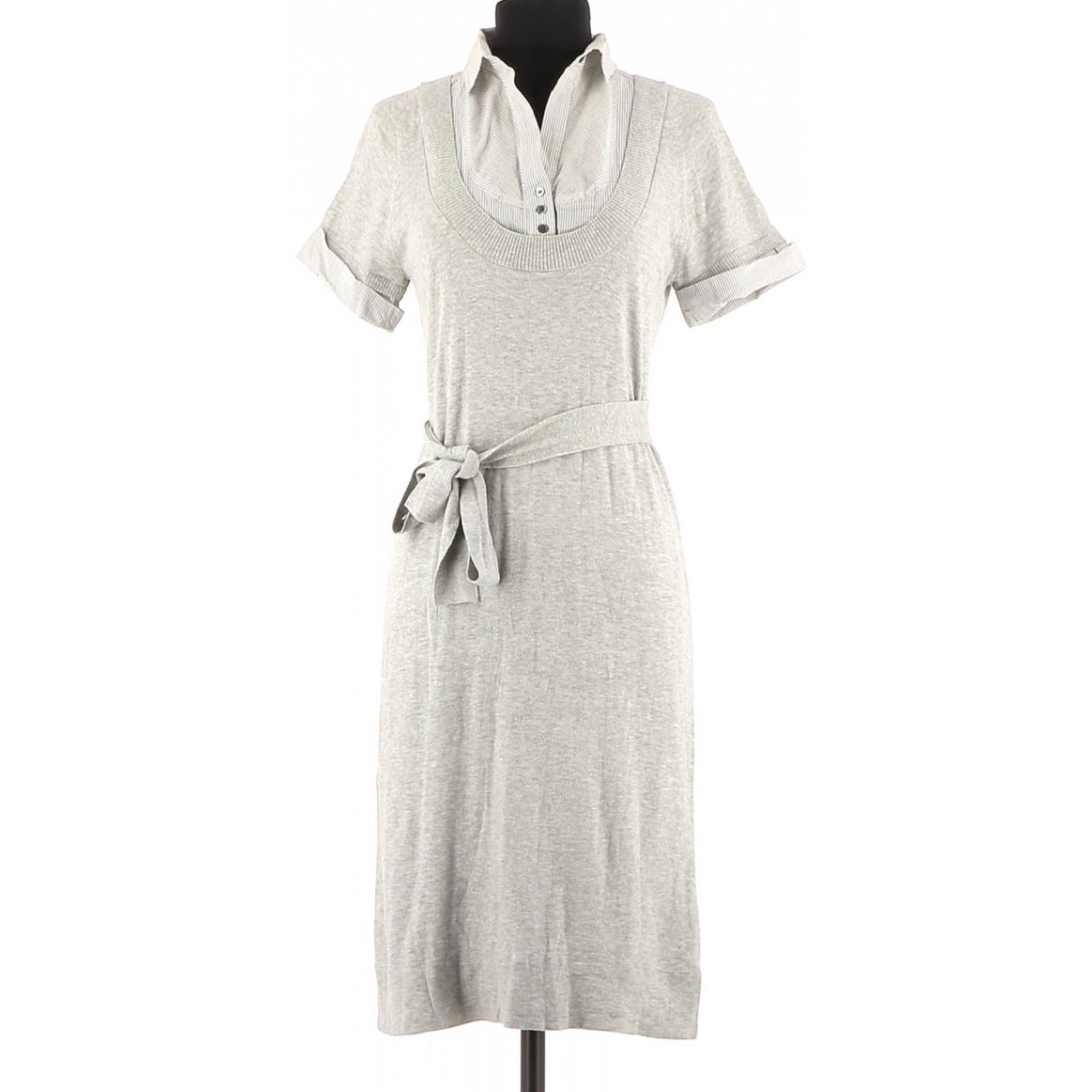Comptoir Des Cotonniers - Robe   pour femme en coton - gris