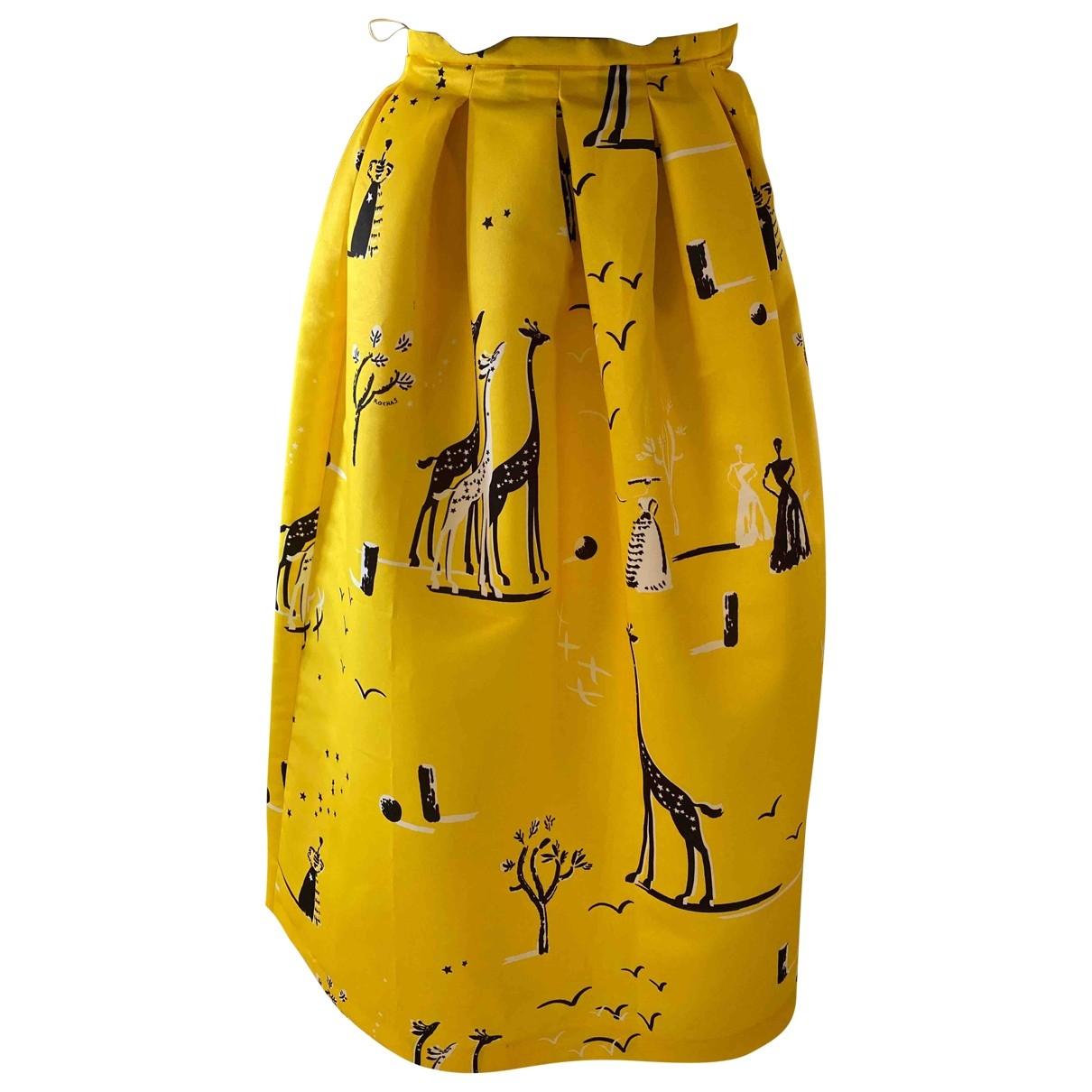 Rochas \N Rocke in  Gelb Polyester