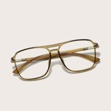 Men Top Bar Acrylic Frame Glasses