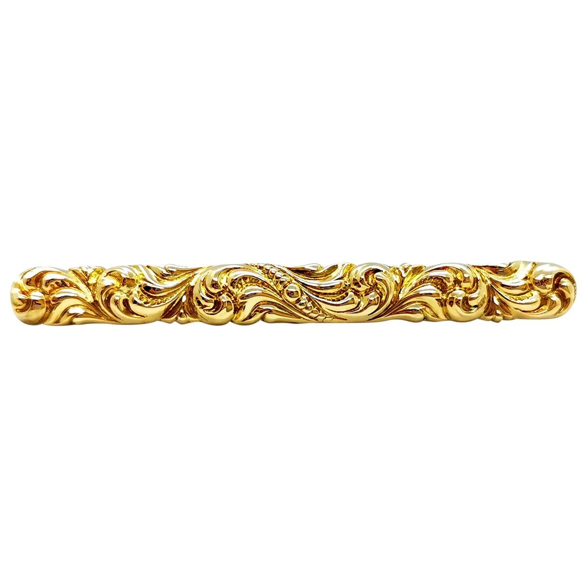 Autre Marque \N Brosche in  Gold Gelbgold