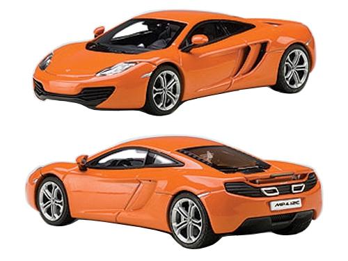 Mclaren MP4-12C Metallic Orange 1/43 Diecast Car Model by Autoart