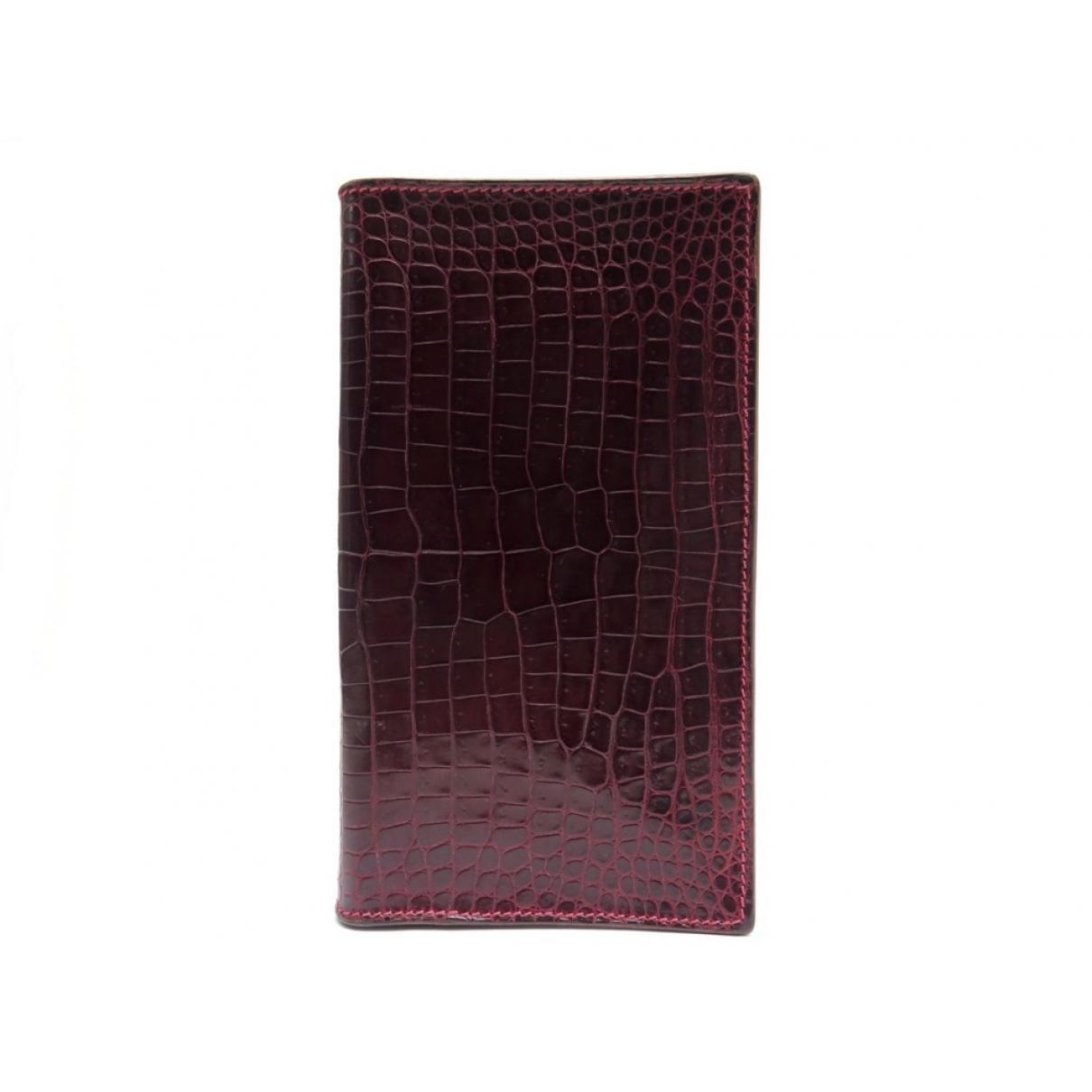 Hermes - Objets & Deco   pour lifestyle en cuir exotique - rouge
