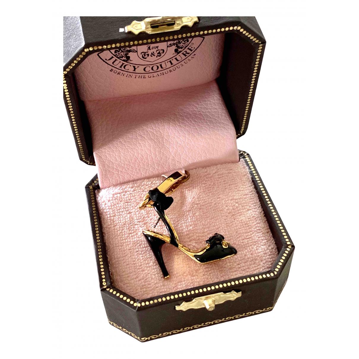 Juicy Couture - Pendentif   pour femme en metal - dore