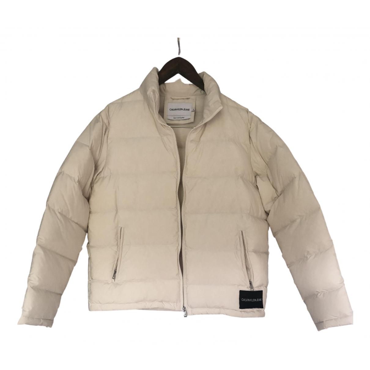 Calvin Klein \N Beige coat for Women S International