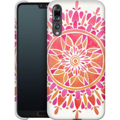 Huawei P20 Pro Smartphone Huelle - Mandala Pink Ombre von Cat Coquillette