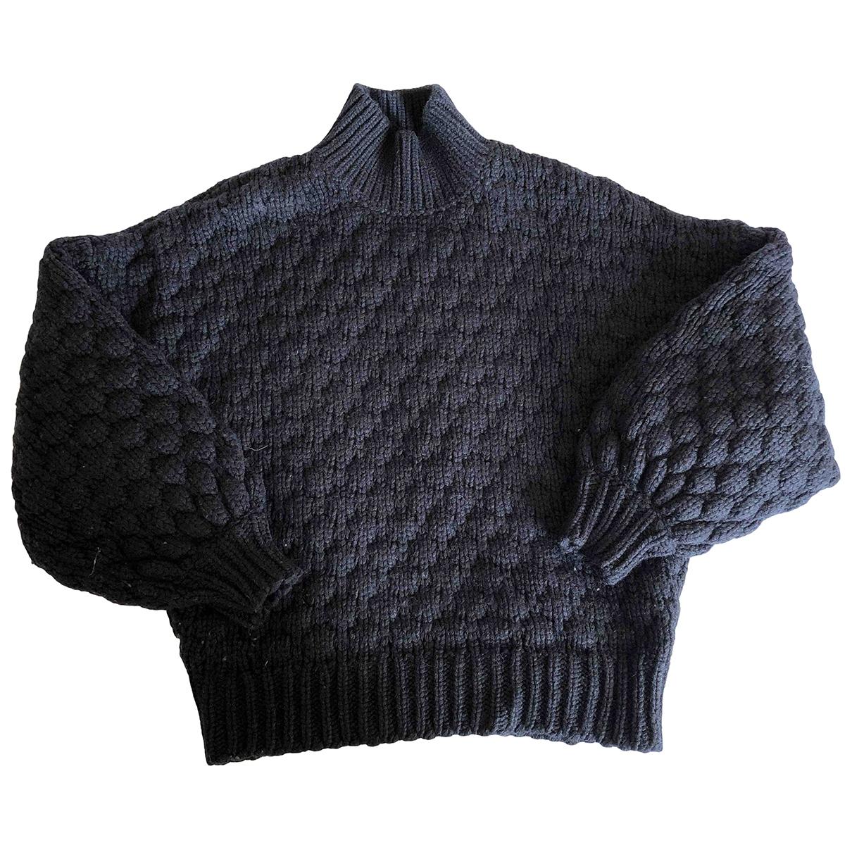 Iro Fall Winter 2019 Pullover in  Schwarz Wolle