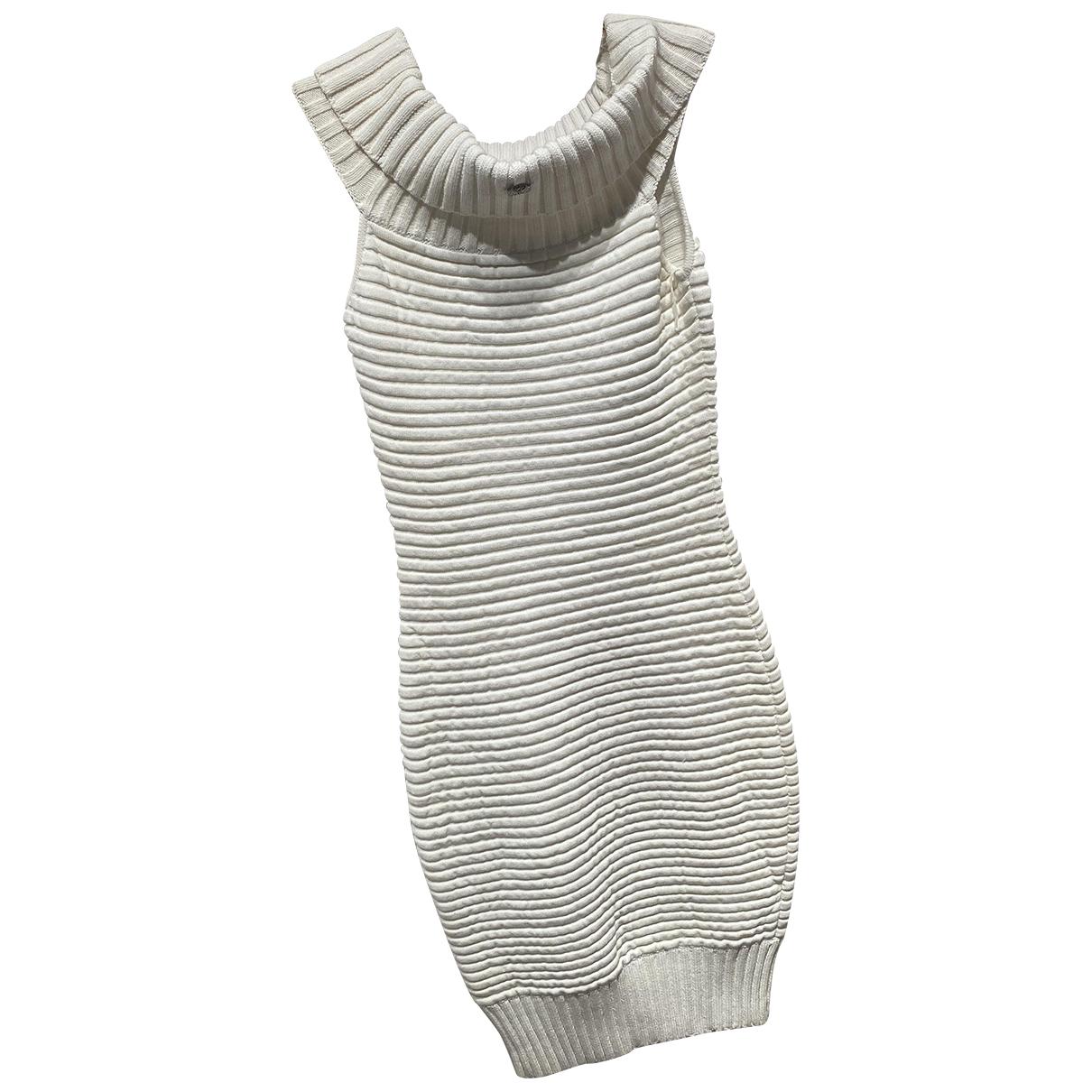 Chanel N White Cotton dress for Women 38 FR
