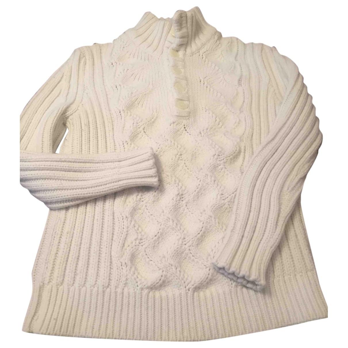 Daniele Alessandrini \N White Wool Knitwear for Women 42 IT