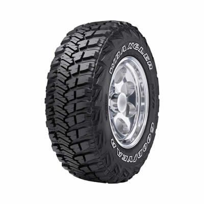 Goodyear LT265/75R16 Tire, Wrangler MT/R with Kevlar - 750153326