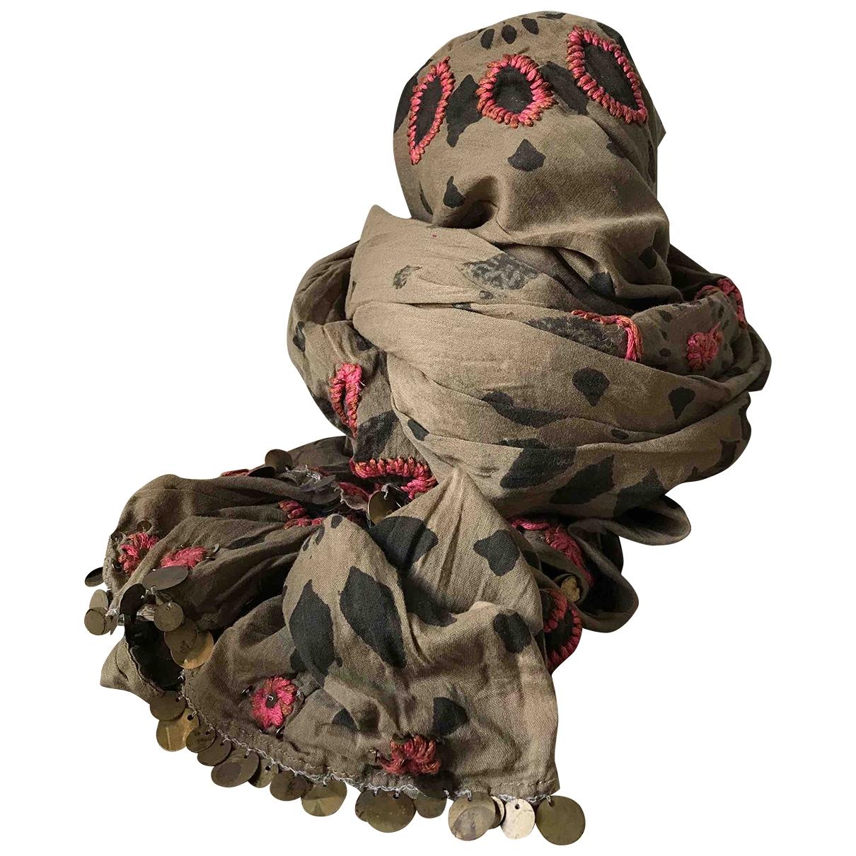 Antik Batik \N Schal in  Bunt Baumwolle