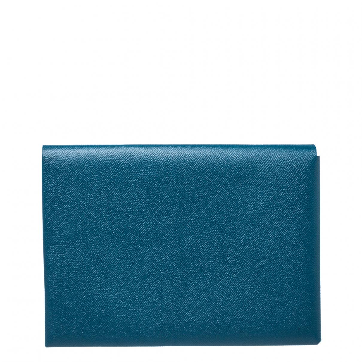 Hermès N Khaki Leather handbag for Women N