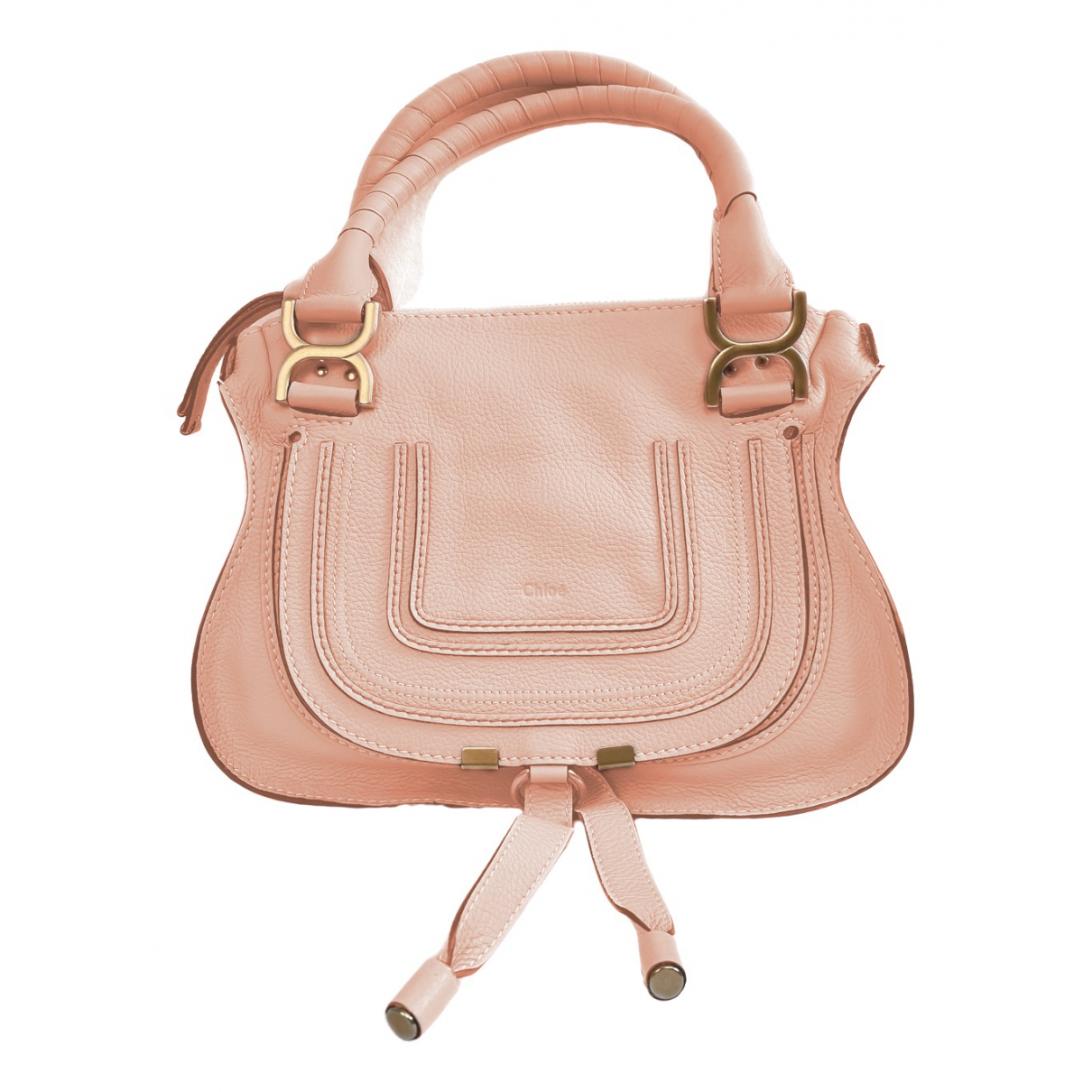 Chloé Marcie Pink Leather handbag for Women \N