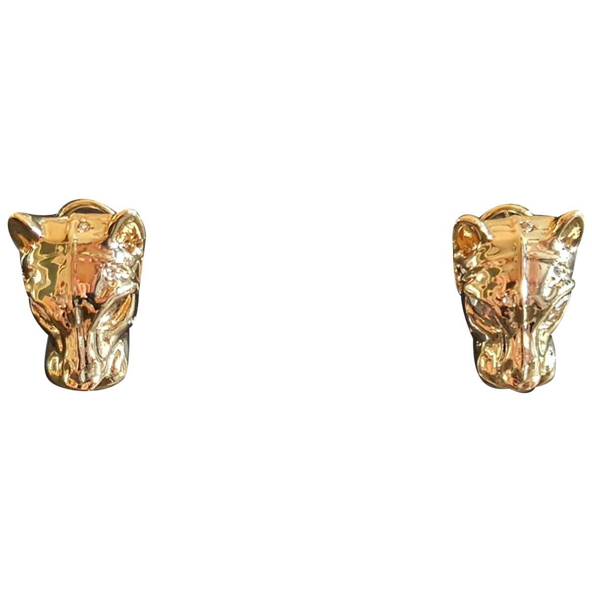 Alexis Bittar - Boucles doreilles   pour femme en or et acier - dore