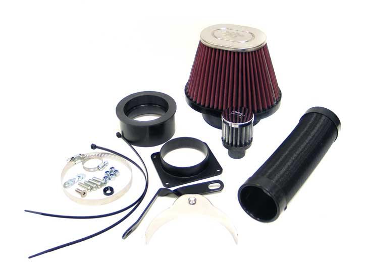 K&N 57-0515 Performance Air Intake System Audi 80 1988 2.8L V6