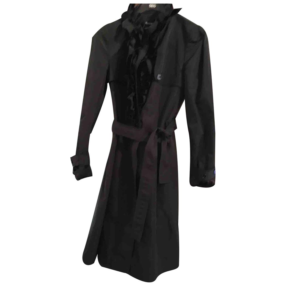 Dolce & Gabbana \N Trench in  Schwarz Polyester