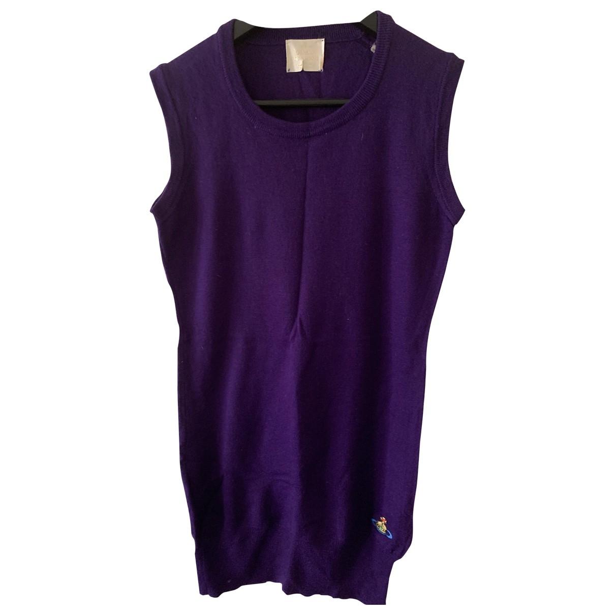 Vivienne Westwood \N Kleid in  Lila Wolle