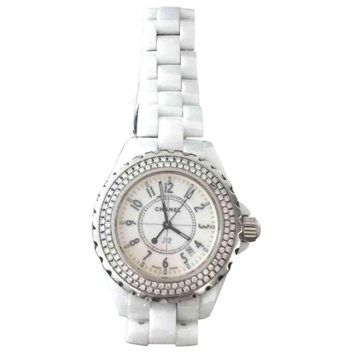 Reloj J12 Quartz de Ceramica Chanel