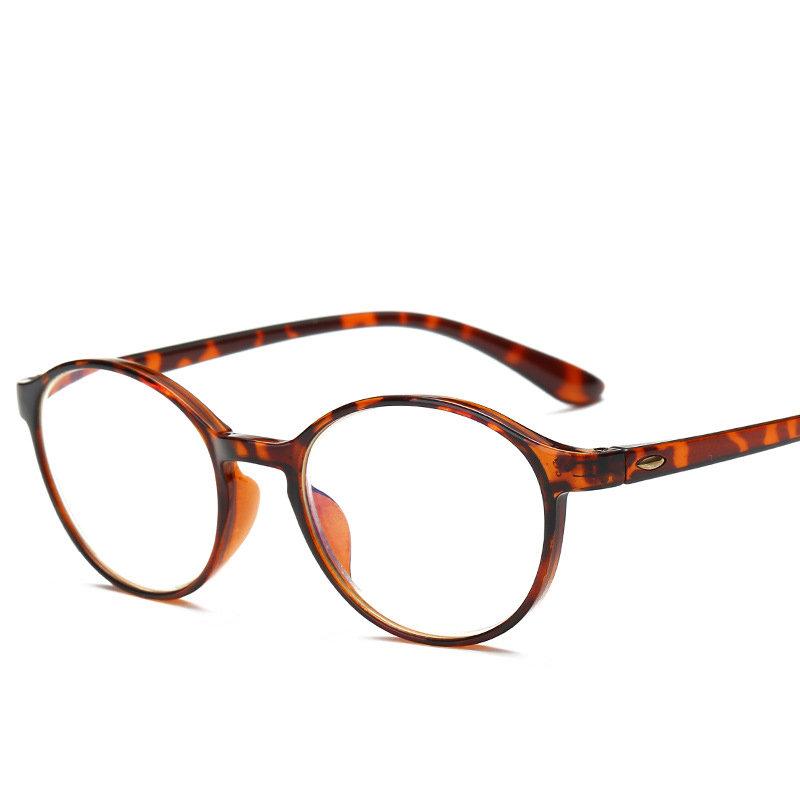 Women Retro Anti-Blu-ray Reading Glasses Fashion Wear-resistant Computer Presbyopic Glasses