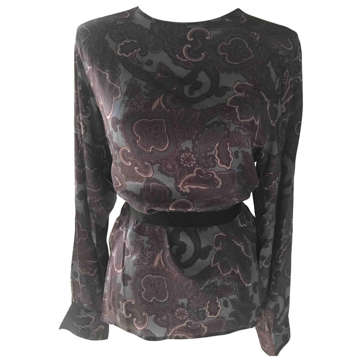 Marella - Top   pour femme en soie - violet