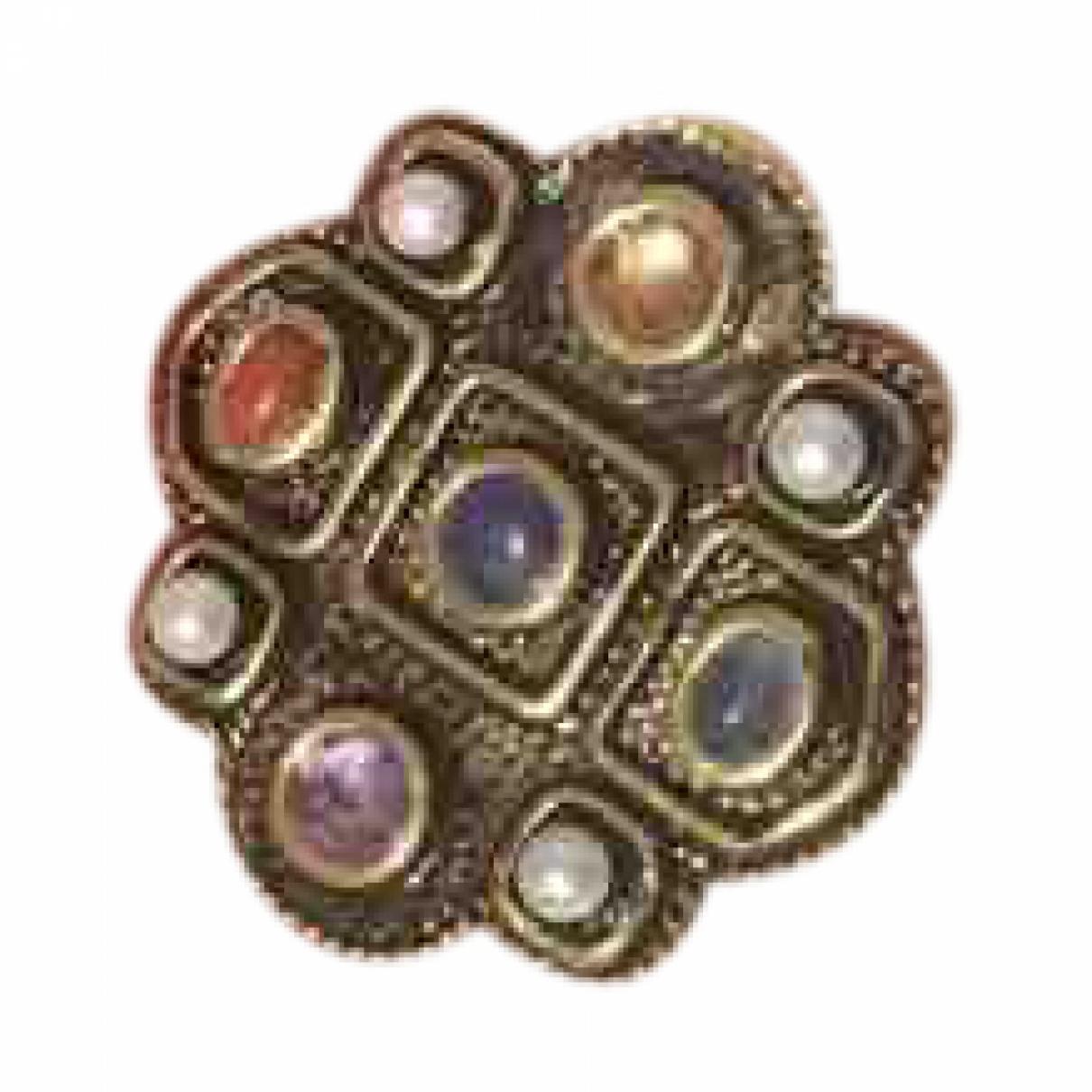 Carolina Herrera \N Ring in  Gold Kristall