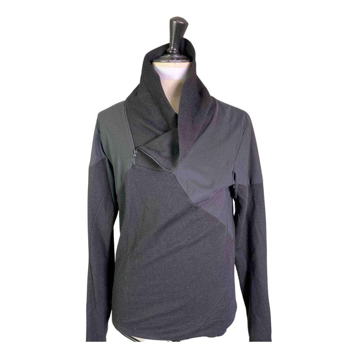 Arcteryx Veilance \N Pullover.Westen.Sweatshirts  in  Schwarz Polyester