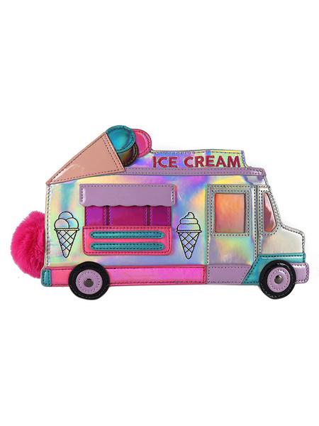Milanoo Sweet Lolita Bag Ice Cream Car Shaped Cross Body Bag