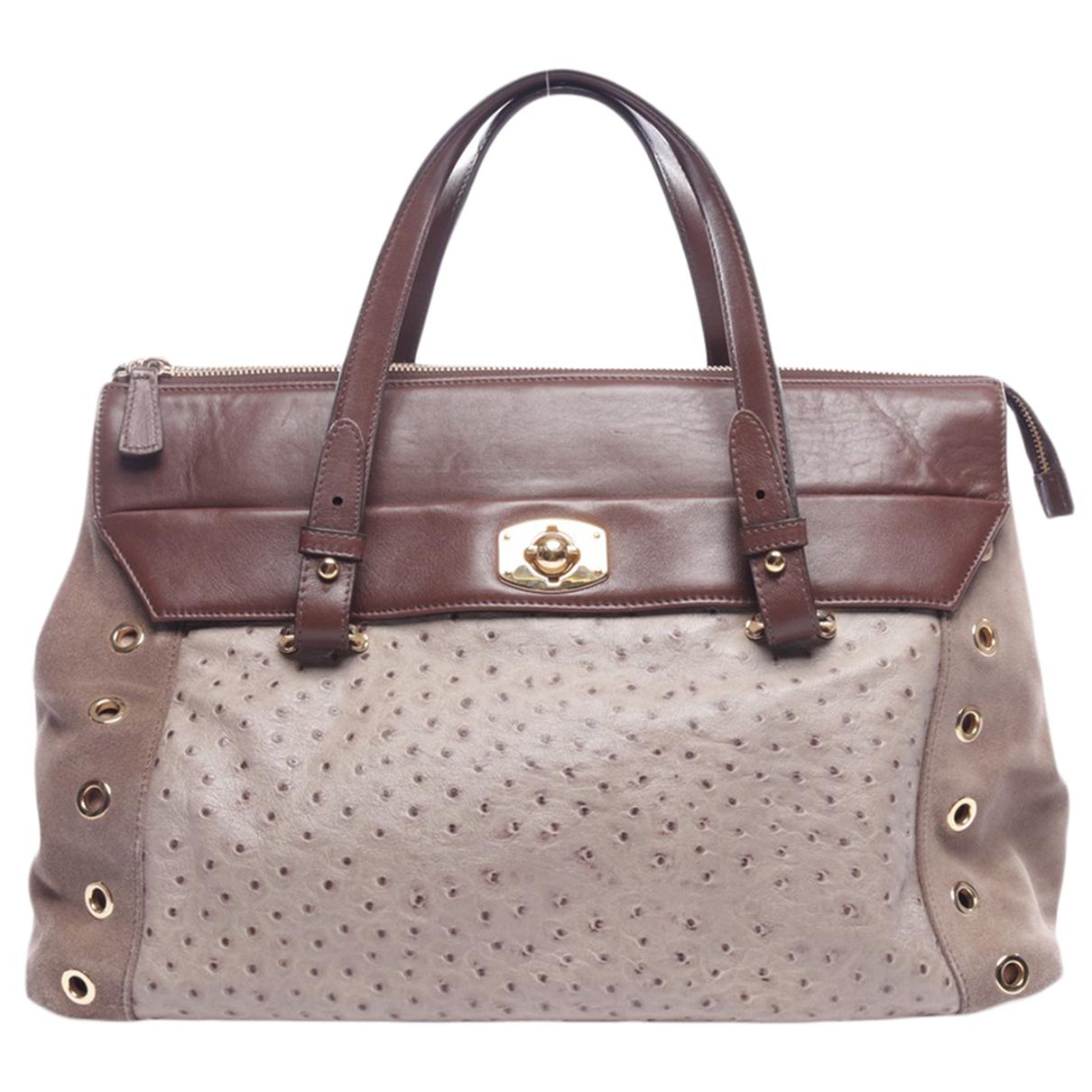 Furla \N Beige Leather handbag for Women \N