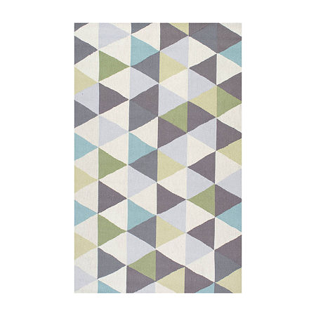 nuLoom Hand Hooked Anderson Rug, One Size , Green