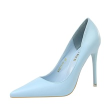 Point Toe Ultra High Heeled Courts
