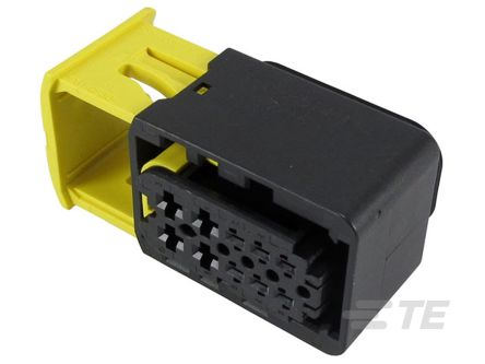 TE Connectivity , HDSCS Automotive Connector Socket 2 Row 10 Way, IP67, IP6K9K, Black (300)