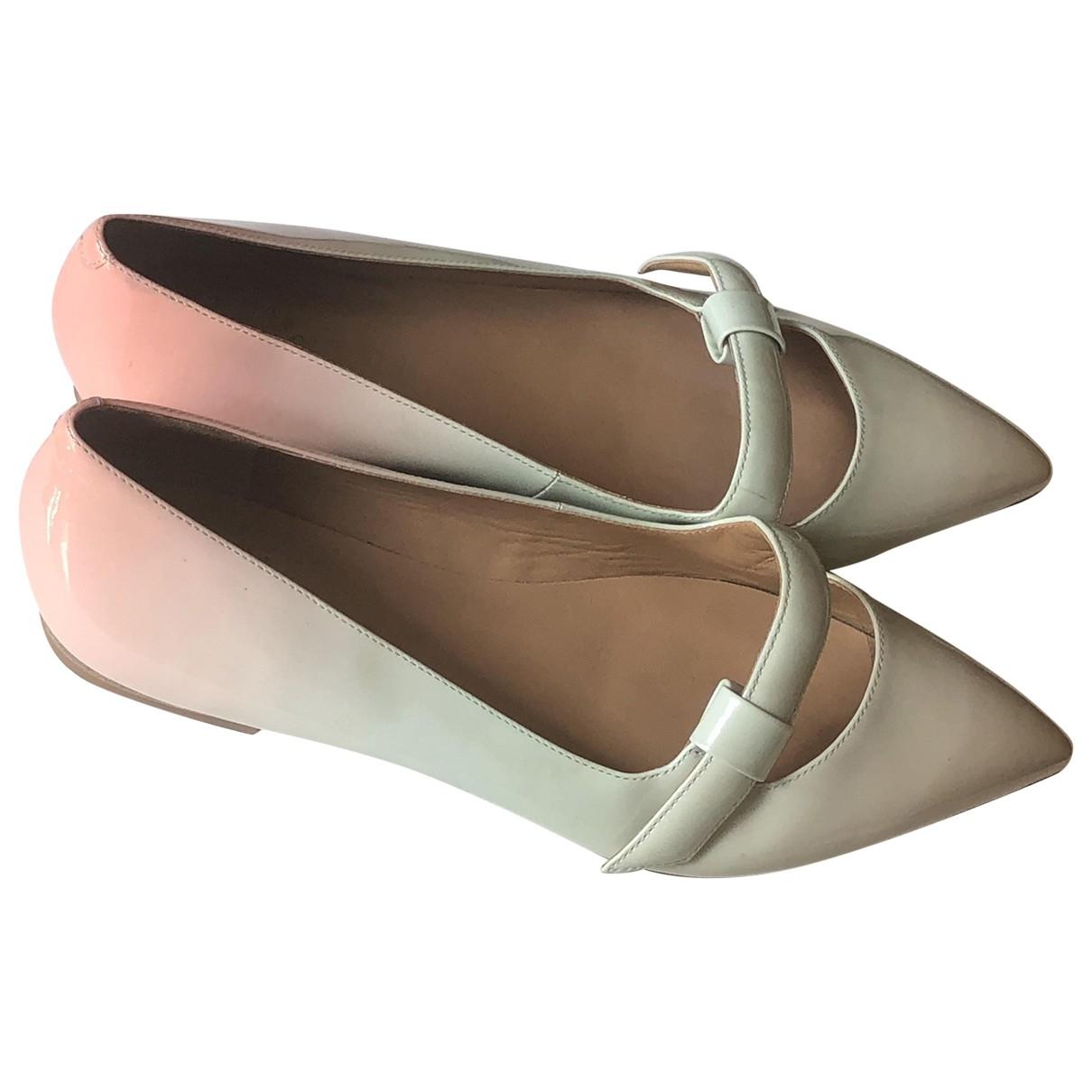 Marc By Marc Jacobs \N Multicolour Patent leather Ballet flats for Women 37 EU