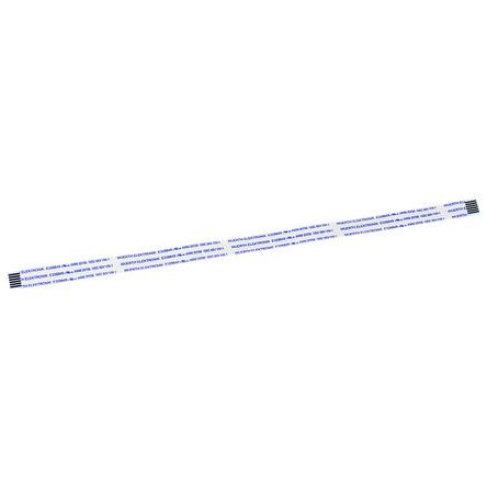 Wurth Elektronik WR-FFC FFC Jumper Cable, 1mm Pitch, 6 Way, 200mm Cable Length, 1 A, 60 V ac (5)