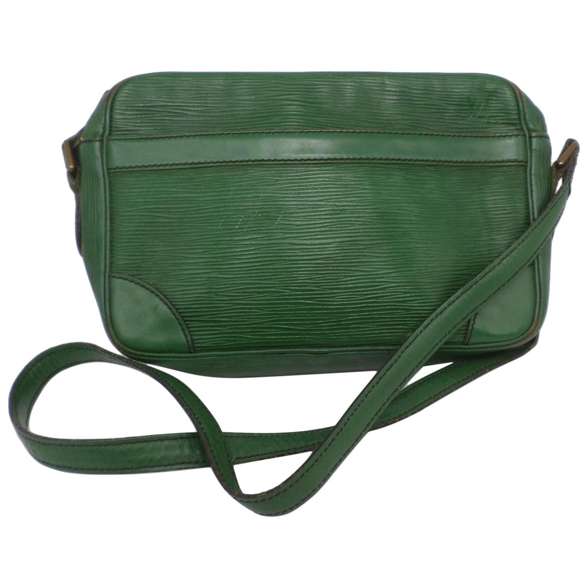 Louis Vuitton - Sac a main Trocadero pour femme en cuir - vert