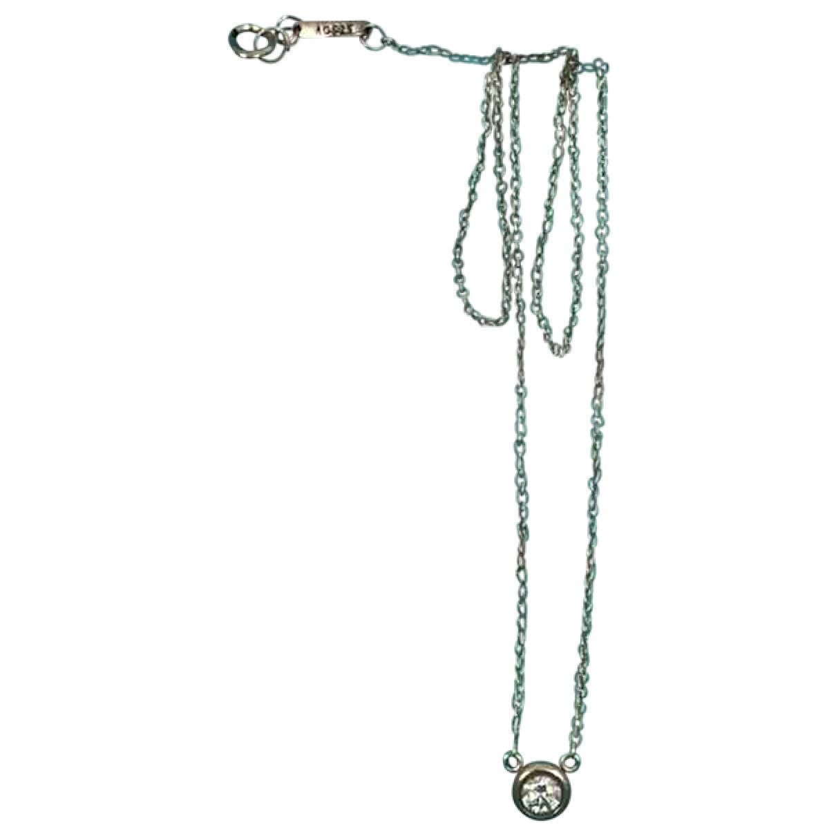 Collar de Oro blanco Tiffany & Co