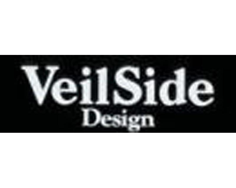 VeilSide Design Sticker White Size: 40x120mm
