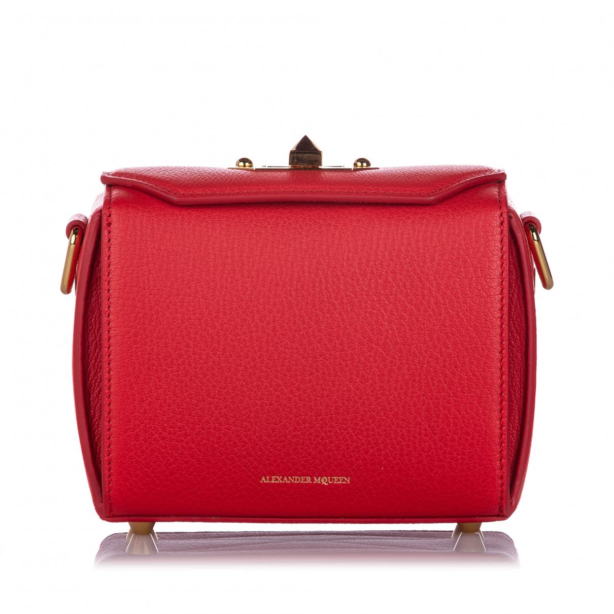 Alexander Mcqueen \N Red Leather handbag for Women \N