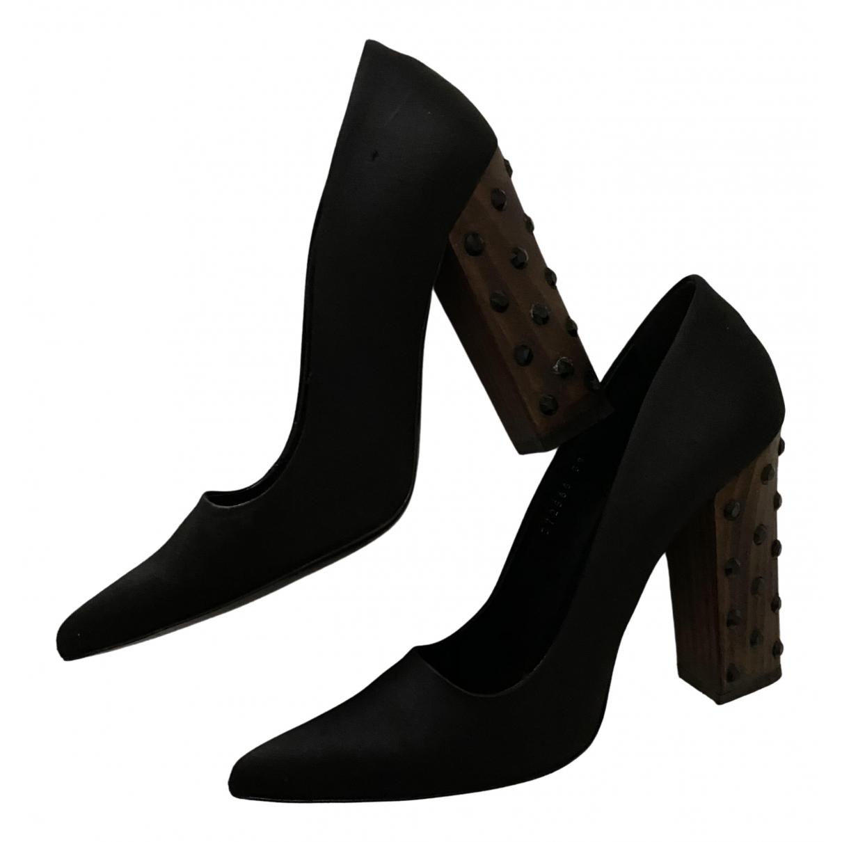 Stella Mccartney - Escarpins   pour femme en toile - noir