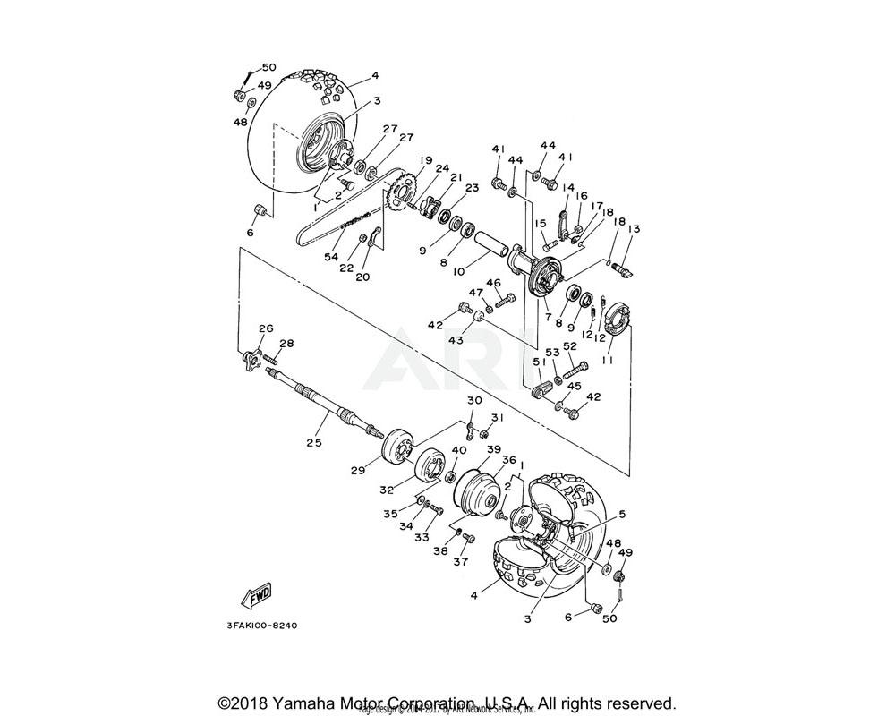 Yamaha OEM 90506-15260-00 SPRING, TENSION