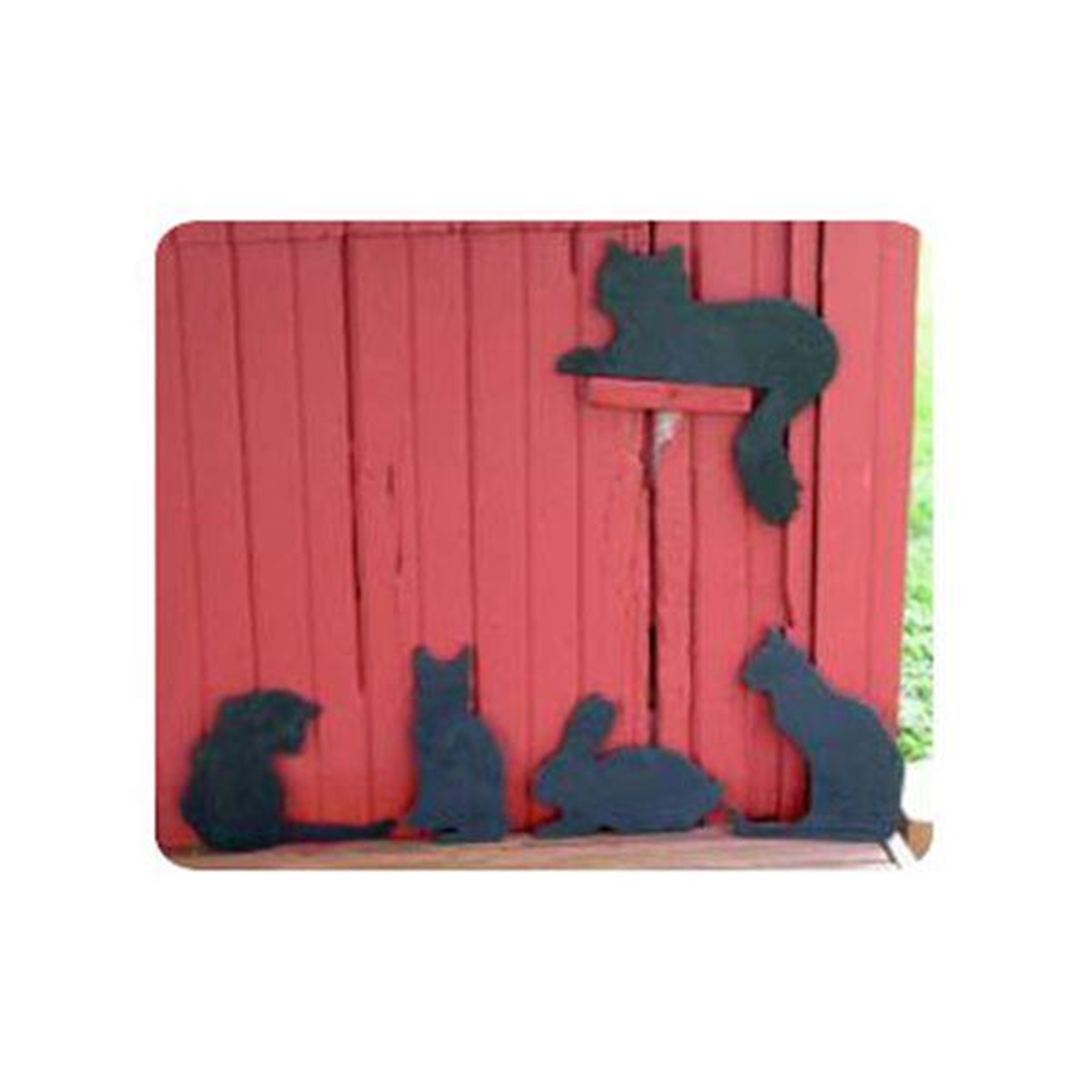 Woodworking Project Paper Plan to Build Cats and Rabbit Shadow