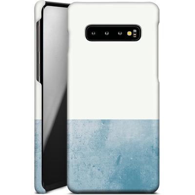 Samsung Galaxy S10 Plus Smartphone Huelle - Colour Block Blue von caseable Designs