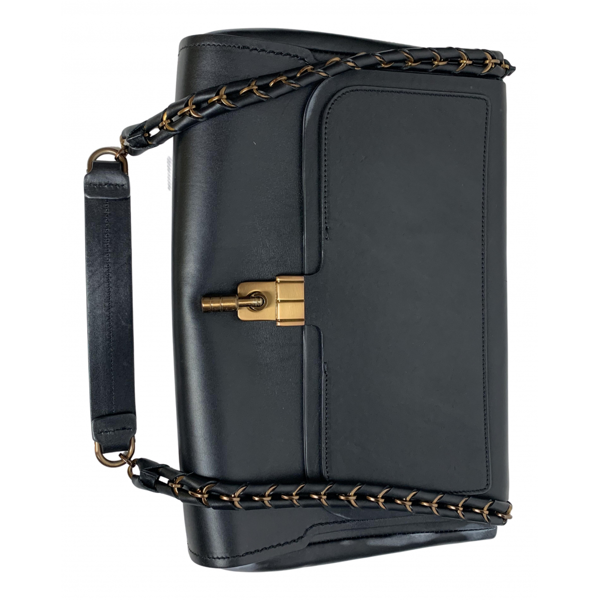 Lanvin \N Black Leather handbag for Women \N
