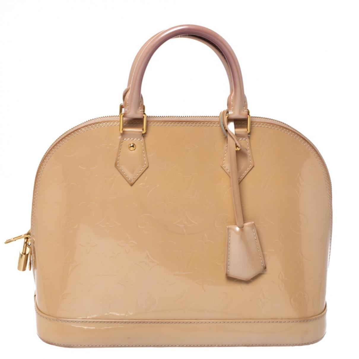 Louis Vuitton Alma Handtasche in Lackleder
