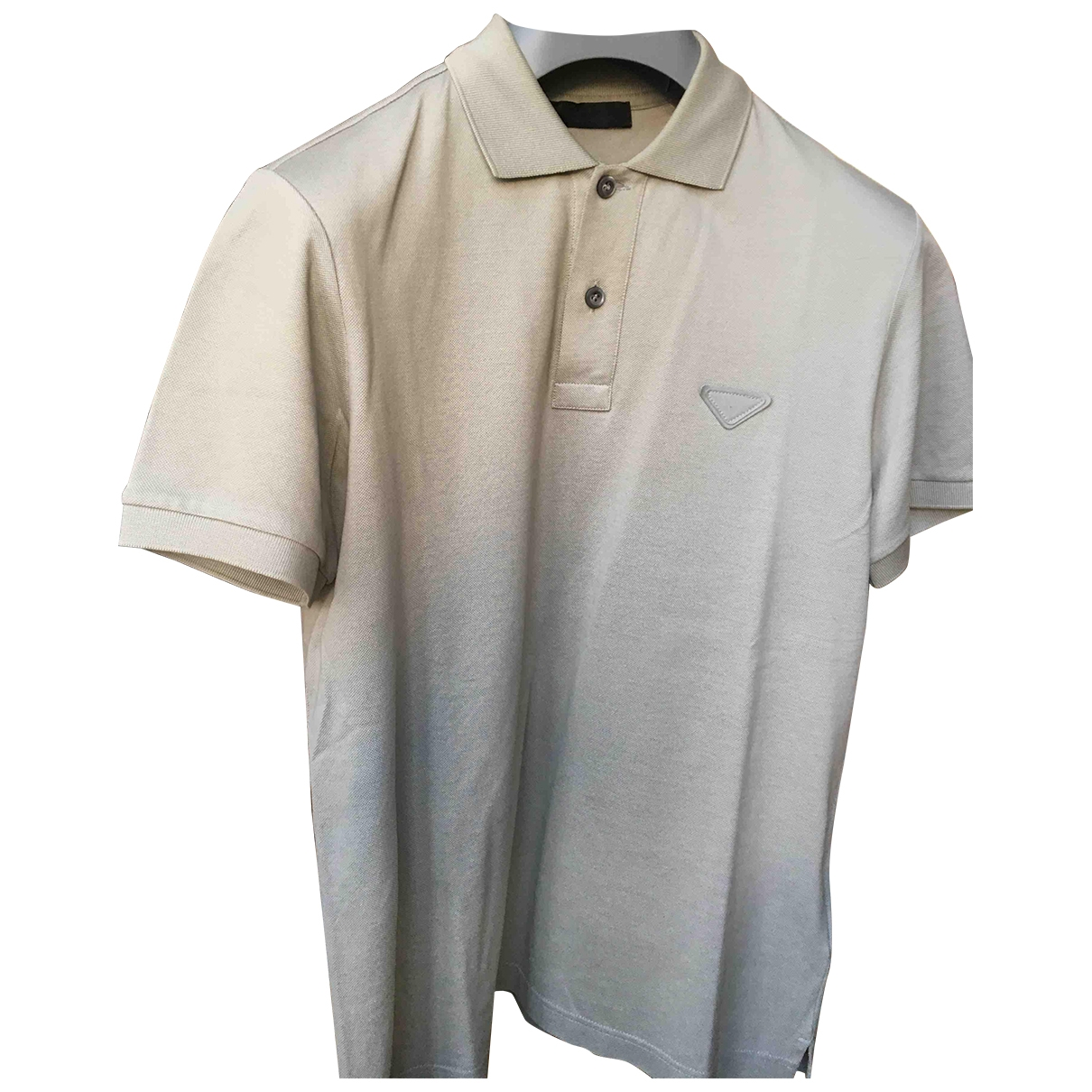 Prada \N Poloshirts in  Grau Baumwolle